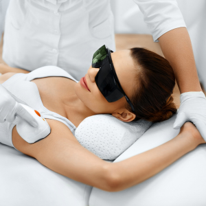 Laser Hair Removal on Armpit
